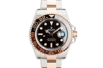 "2020 Rolex EVEROSE GMT-Master II 126711CHNR ""Root Beer"" with Full Set photo"