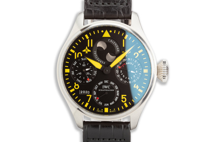 2015 IWC Pilot Chronograph Limited model IW502640 Limited Edition of 50pcs Perpetual Calendar photo