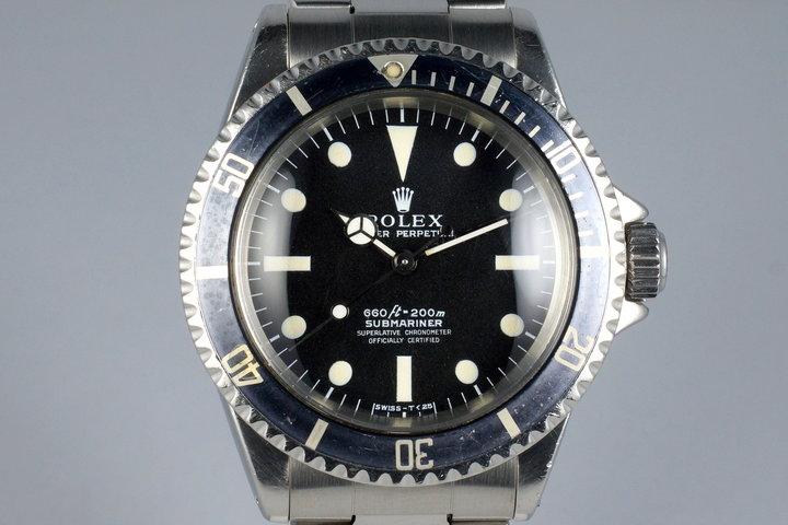 1968 Rolex Submariner 5512 4 Line Serif Dial photo