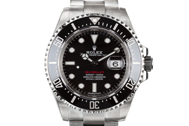 Mint 2017 Rolex Red Sea-Dweller 126600 with Box and Papers photo