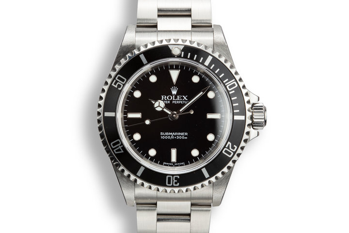 2005 Rolex Submariner 14060M with Box and Papers photo