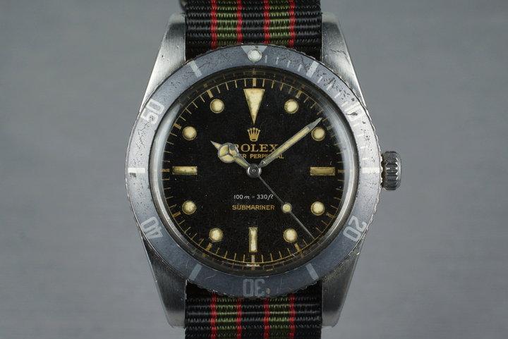1958 Rolex Submariner 5508 Gilt Chapter Ring photo