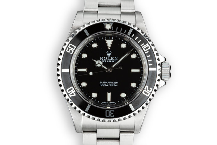 2003 Rolex Submariner 14060M photo