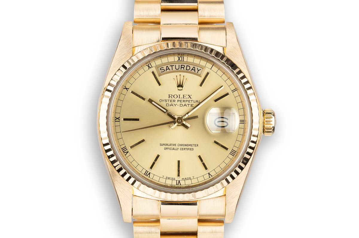 1978 Rolex Day-Date 18038 Champagne Dial photo, #0