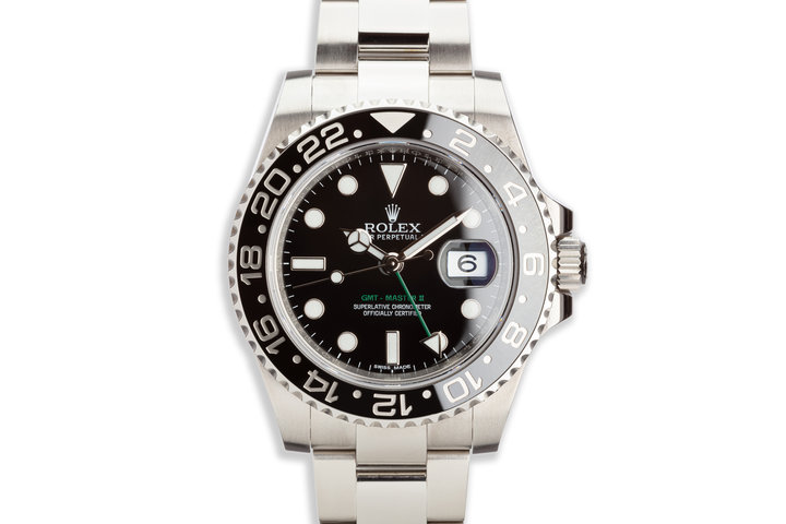 2017 Rolex GMT-Master II116710LN Black Bezel with Box and Card photo