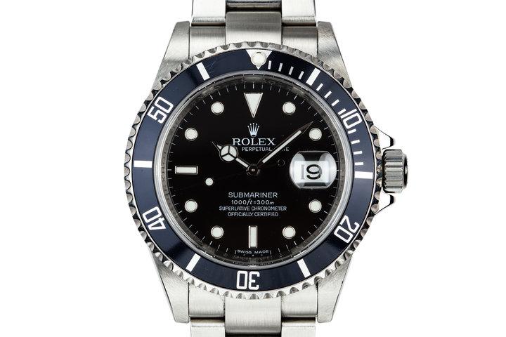 2009 Rolex Submariner 16610 photo