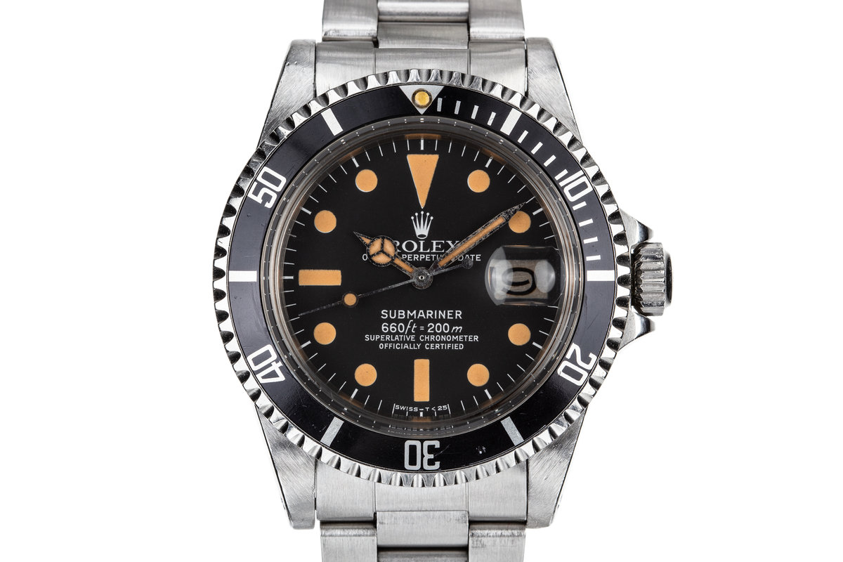 1978 Rolex Submariner 1680 Pumpkin Dial photo, #0