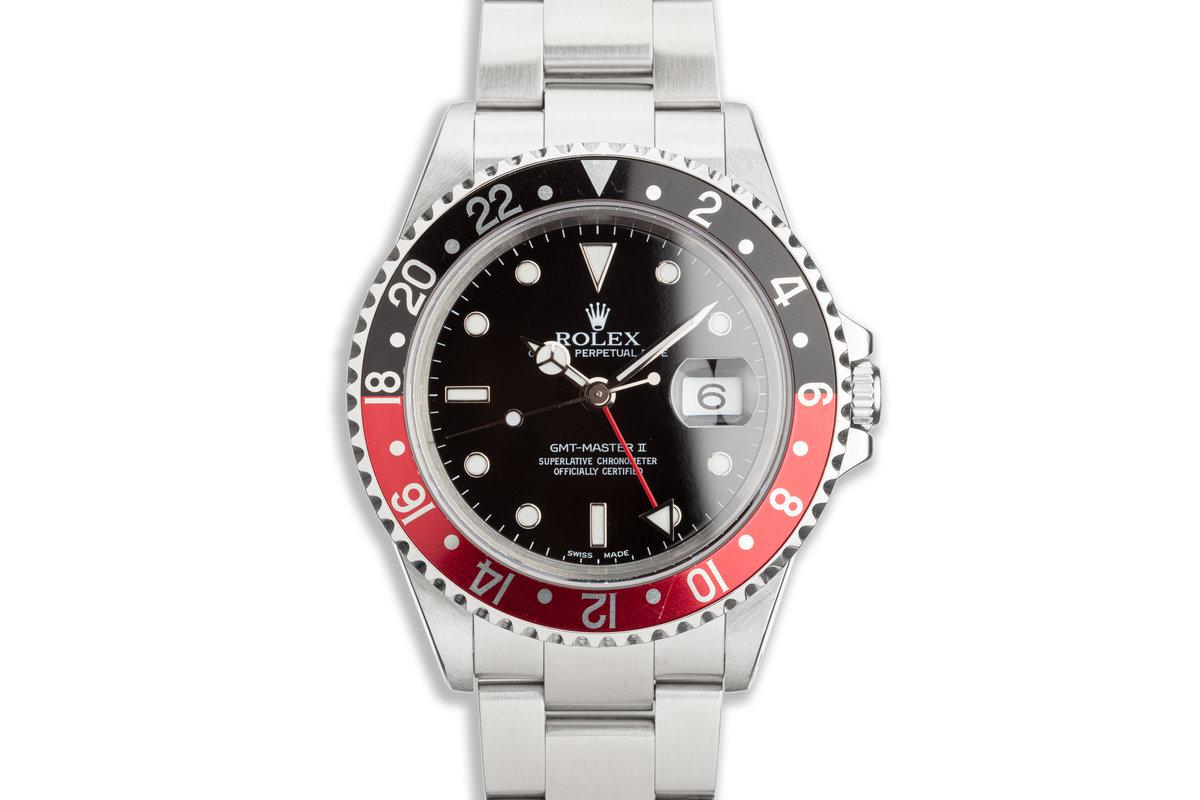 2001 Rolex GMT Master II 16710 Coke Bezel photo, #0