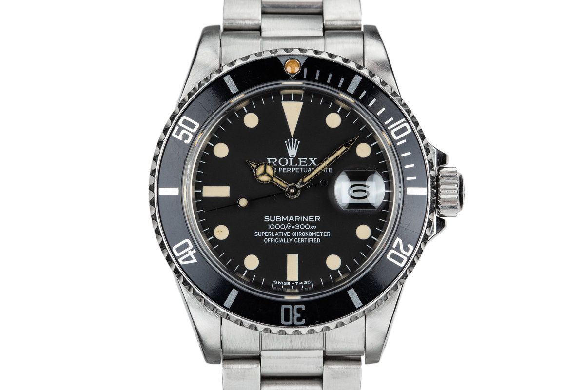 1982 Rolex Submariner 16800 Matte Dial photo, #0