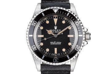 1976 Rolex Submariner 5513 photo