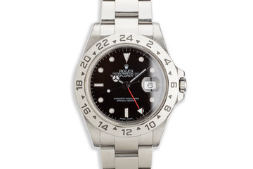 2004 Rolex Explorer II 16570T Black Dial with Box and Papers photo