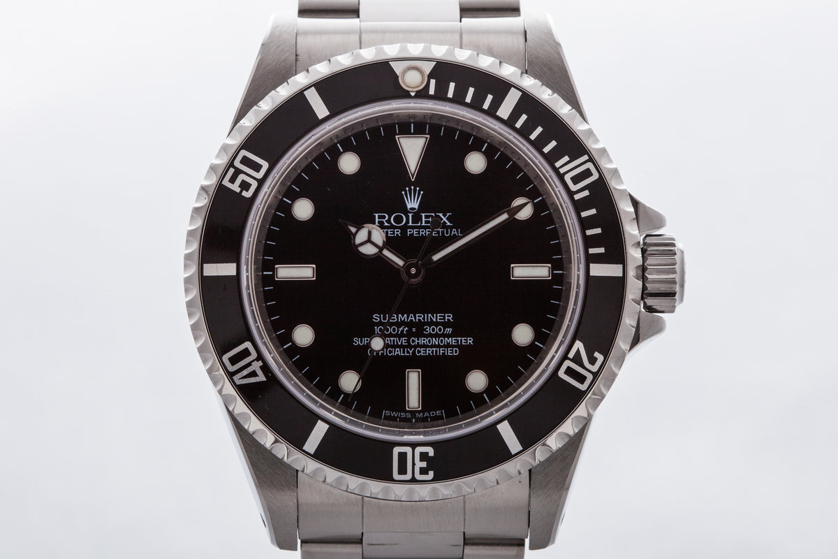2006 Rolex Submariner 14060M 4 Line Dial photo, #0