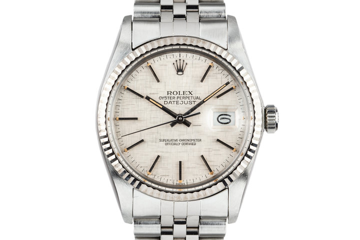 1983 Rolex DateJust 16014 Linen Dial photo