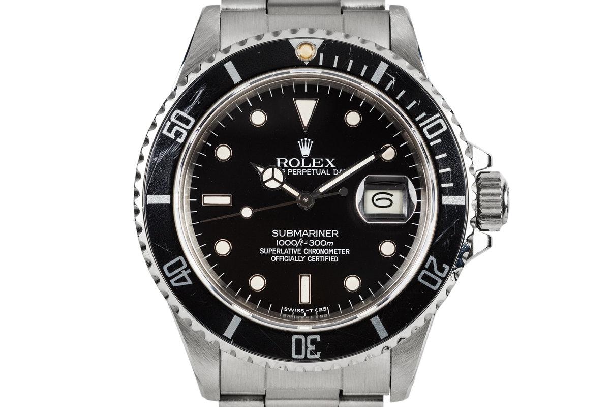 1985 Rolex Submariner 16800 photo, #0