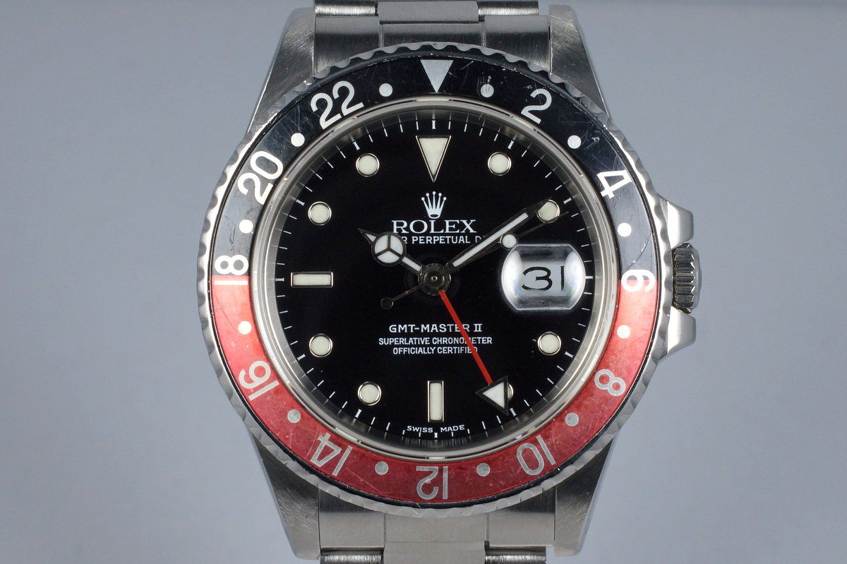 1988 Rolex Fat Lady GMT II 16760 Service Dial photo, #0