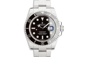 2012 Rolex Ceramic Submariner 116610 with Box and Papers photo
