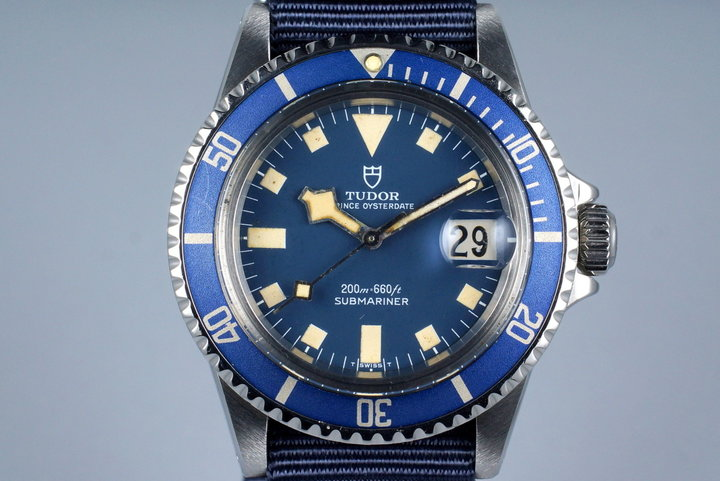 1977 Tudor Submariner R94110 Blue Snowflake photo