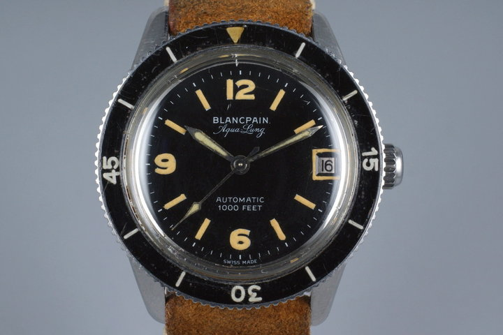 Early 1950's Blancpain  Aqua Lung photo