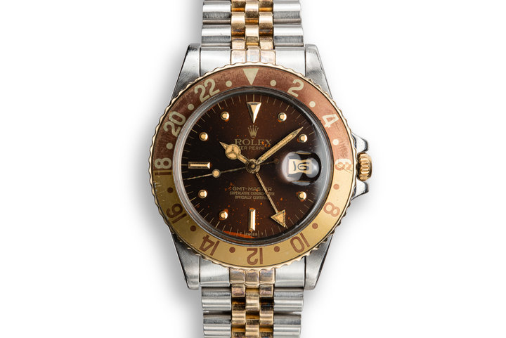 "1979 Rolex GMT-Master 16753 with ""Root Beer"" Nipple Dial photo"