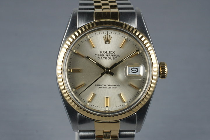 1984 Rolex Two Tone DateJust 16013 with Box and Papers photo
