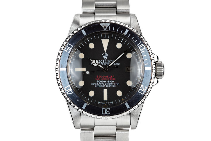 1978 Rolex Double Red Sea-Dweller 1665 with MK IV Dial photo