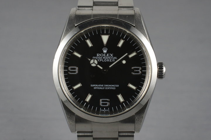 1997 Rolex Explorer 14270 with Box and Papers photo