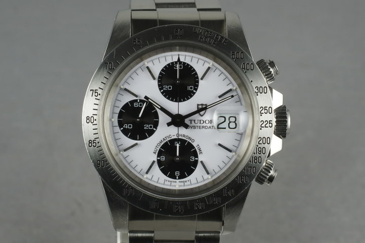 Tudor Chronograph Big Block  79180 with Box and Papers photo