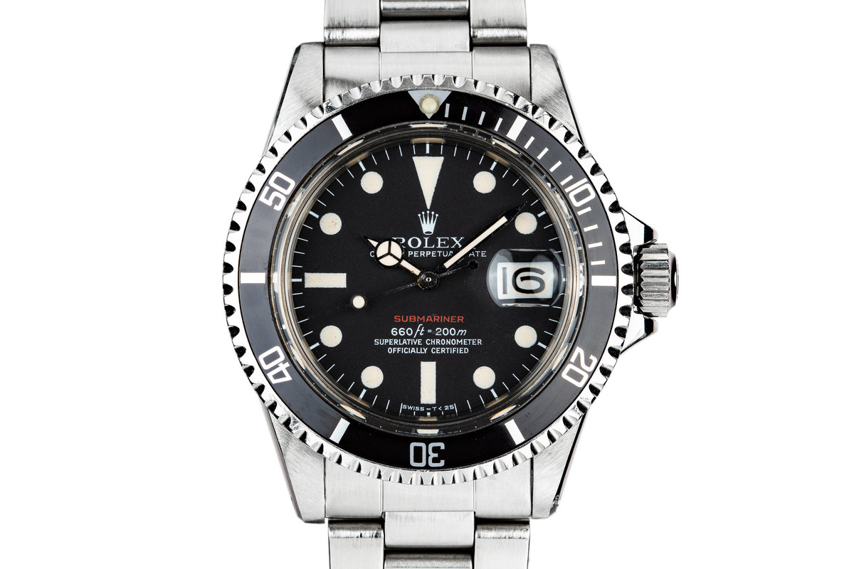 1971 Rolex Red Submariner 1680 photo, #0