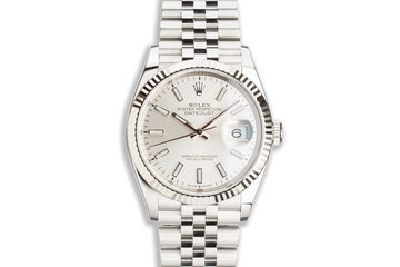 2020 Rolex Datejust 126234 Silver Dial with Box & Card photo