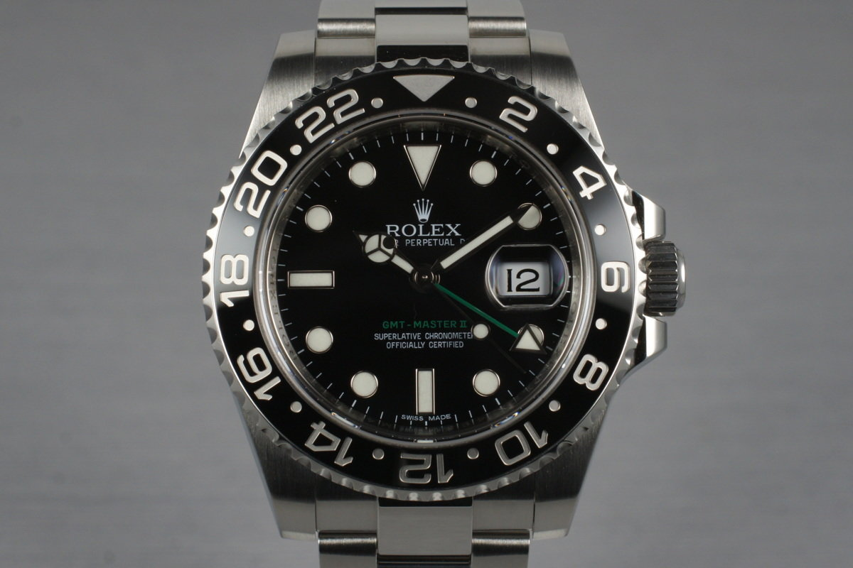 2012 Rolex GMT II 116710LN with Box photo, #0