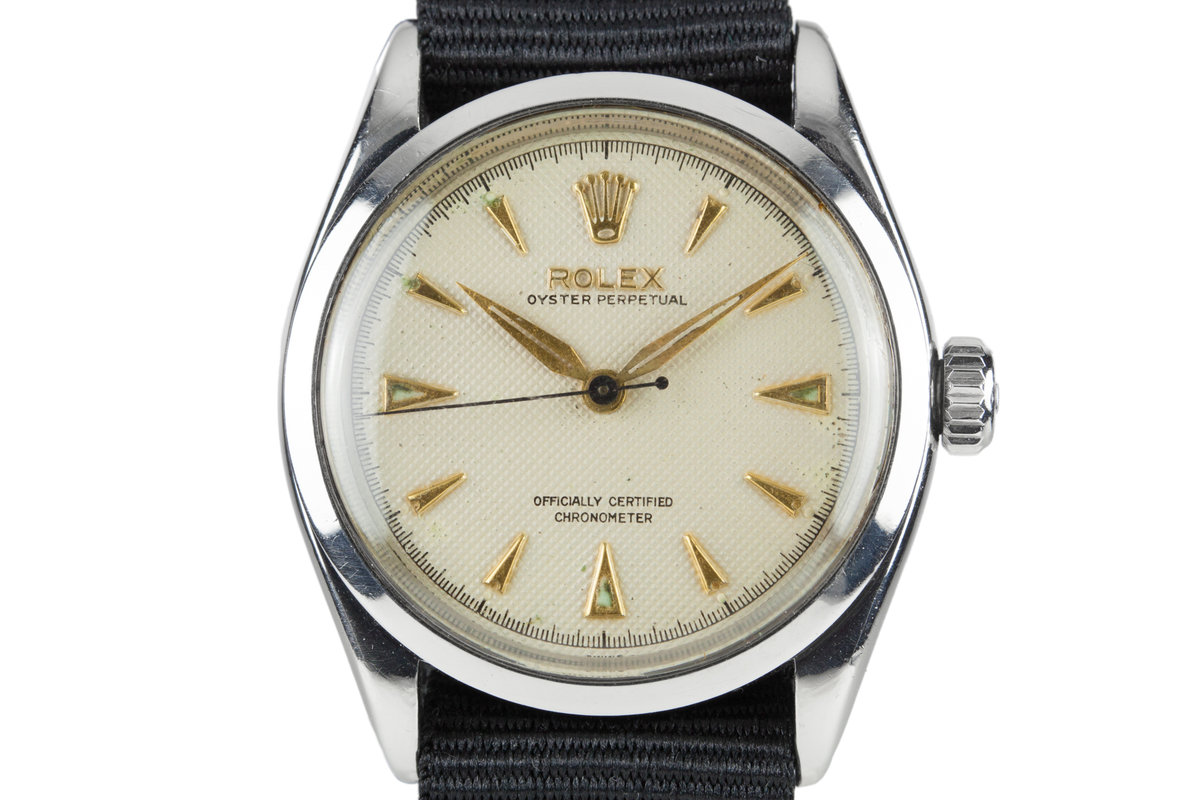 1954 Rolex Oyster Perpetual 6284 with Refinished Dial photo, #0