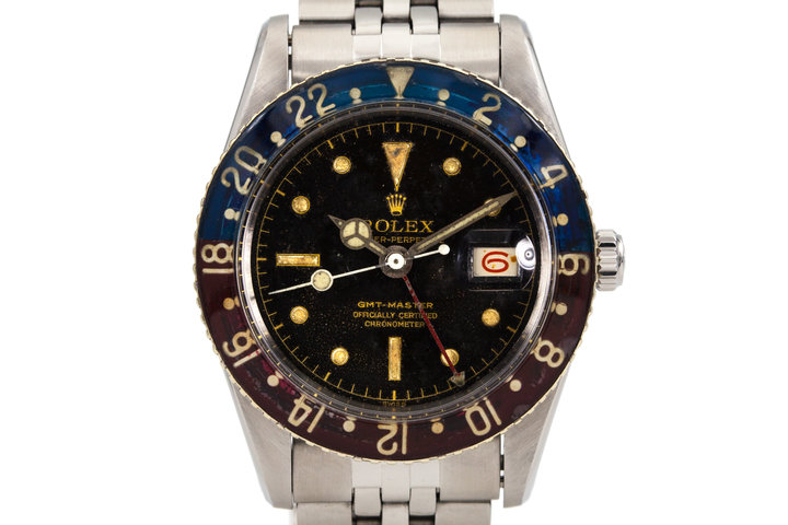 1957 Rolex GMT 6542 with original Bakelite bezel photo