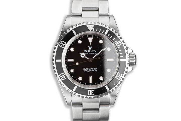 1999 Rolex Submariner 14060 with Box & Papers photo
