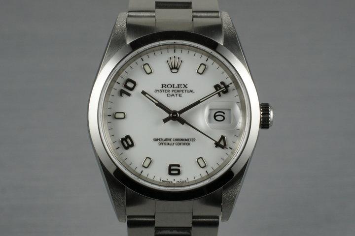 2002 Rolex Date 15200 photo