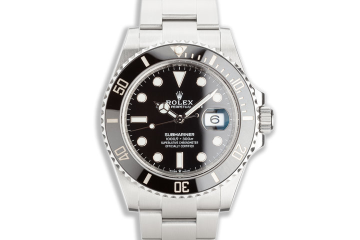 2020 41mm Rolex Submariner 126610LN with Box & Card photo