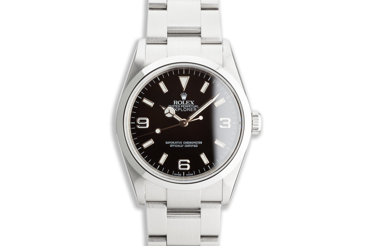 2005 Rolex Explorer 114270 with Box & Papers photo, #0