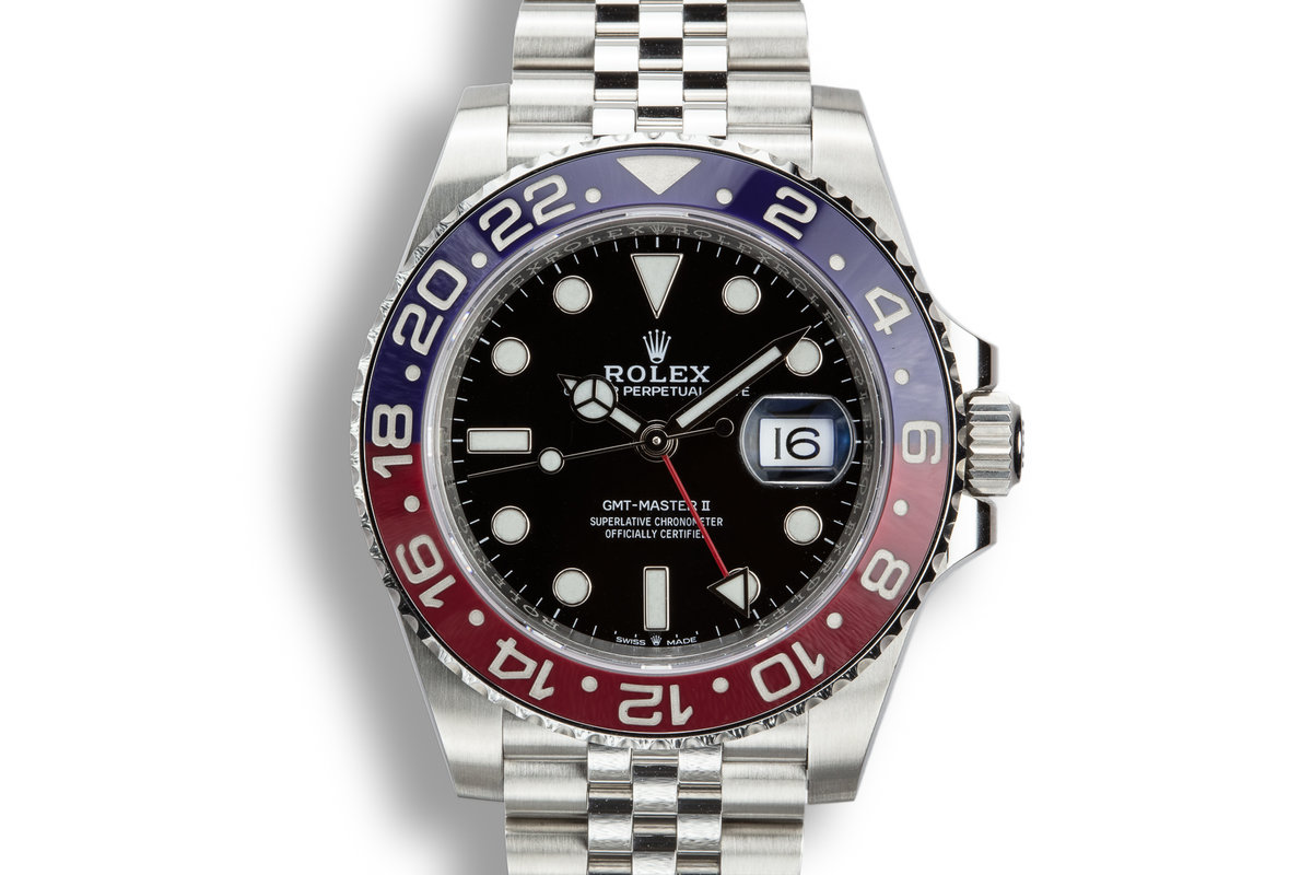 2018 Rolex GMT-Master II 126710BLRO with Box and Papers photo, #0