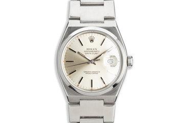 1979 Rolex OysterQuartz DateJust 17000 Silver Dial photo