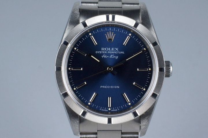 1994 Rolex Air-King 14010 with Box and Papers photo