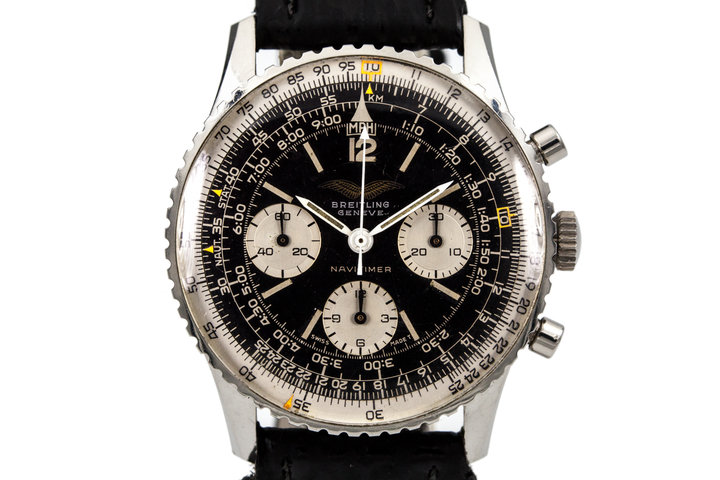 "Iraqi Air Force Breitling Navitimer 806 ""Panda Dial"" photo"