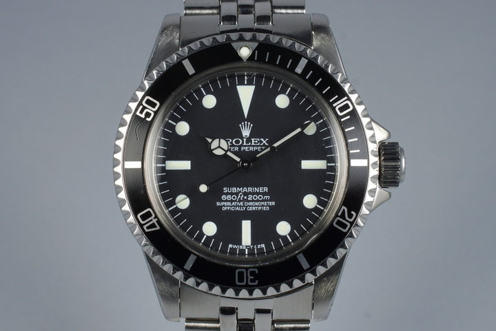1961 Rolex Submariner 5512 PCG photo