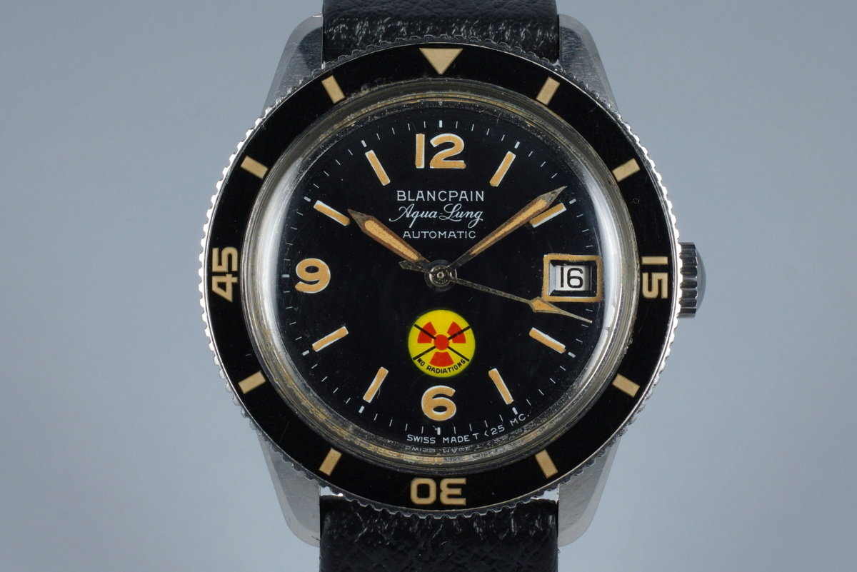 Early 1960's Blancpain 50 Fathoms 'No Radiations' Aqua Lung photo, #0
