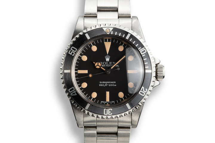 1981 Rolex Submariner 5513 with MK III Maxi Dial photo