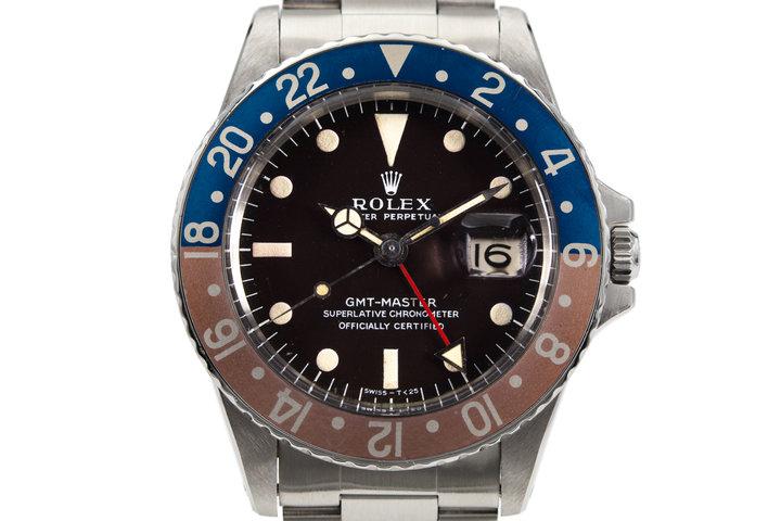 1968 Rolex GMT 1675 Mark I  photo