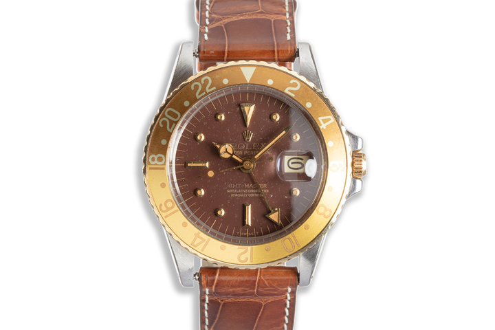 1971 Vintage Rolex GMT-Master 1675 with Brown Nipple Dial photo