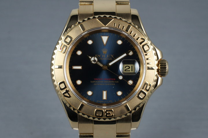 1995 Rolex YG Yacht-Master 16628 with Box and Papers photo