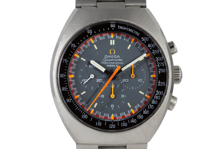 1970 Omega Speedmaster Mark II 145.014 Racing Dial photo