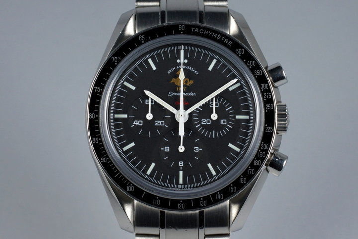 2007 Omega Speedmaster 311.30.42.30 50th Anniversary Limited Ed. with Box and Papers photo