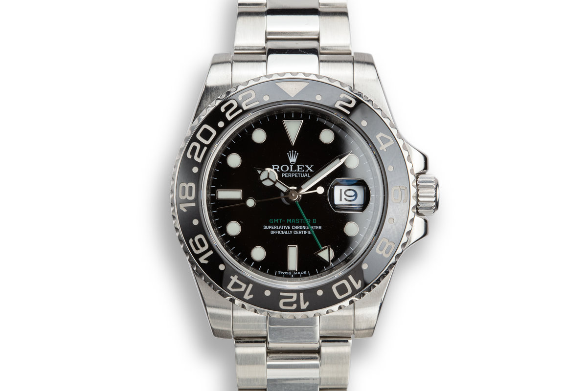 2007 Rolex GMT-Master II 116710N photo, #0
