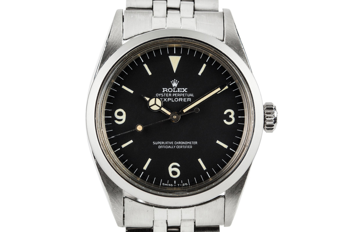 1967 Rolex Explorer 1 1016 with Papers photo, #0